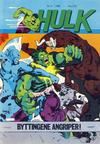 Cover for Hulk (Atlantic Forlag, 1980 series) #6/1982