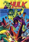 Cover for Hulk (Atlantic Forlag, 1980 series) #11/1982