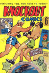 Cover for Knockout Comics (Frank Johnson Publications, 1940 ? series)
