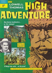 Cover Thumbnail for A Movie Classic (World Distributors, 1956 ? series) #65 - High Adventure