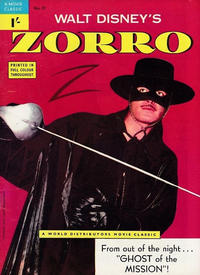 Cover Thumbnail for A Movie Classic (World Distributors, 1956 ? series) #57 - Zorro