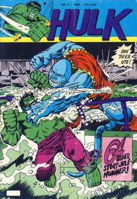 Cover Thumbnail for Hulk (Atlantic Forlag, 1980 series) #9/1980