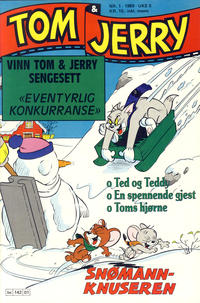 Cover Thumbnail for Tom & Jerry (Semic, 1979 series) #1/1989