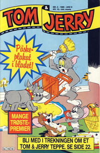 Cover Thumbnail for Tom & Jerry (Semic, 1979 series) #2/1989