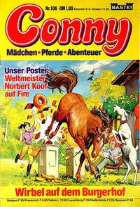 Cover Thumbnail for Conny (Bastei Verlag, 1980 series) #106