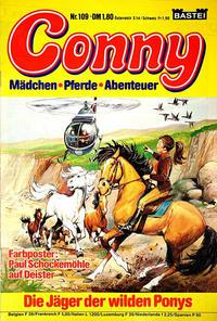 Cover Thumbnail for Conny (Bastei Verlag, 1980 series) #109