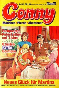 Cover Thumbnail for Conny (Bastei Verlag, 1980 series) #115