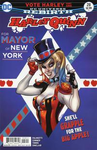 Cover Thumbnail for Harley Quinn (DC, 2016 series) #28
