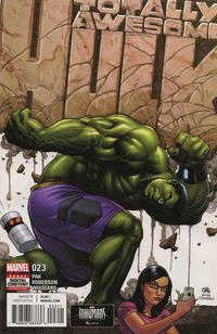 Cover Thumbnail for Totally Awesome Hulk (Marvel, 2016 series) #23