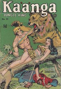 Cover Thumbnail for Kaänga Comics (H. John Edwards, 1950 ? series) #31