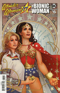 Cover Thumbnail for Wonder Woman '77 Meets the Bionic Woman (Dynamite Entertainment, 2016 series) #6 [Cover B Nicola Scott]