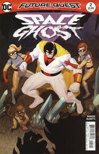 Cover for Future Quest Presents (DC, 2017 series) #2 [Ariel Olivetti Cover]