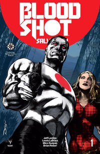 Cover Thumbnail for Bloodshot Salvation (Valiant Entertainment, 2017 series) #1 [Collecting Valiant Comics Podcast - Fernando Dagnino]