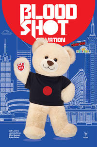 Cover Thumbnail for Bloodshot Salvation (Valiant Entertainment, 2017 series) #1 [NYCC 2017 - Build-A-Bear Variant]
