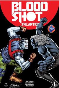 Cover Thumbnail for Bloodshot Salvation (Valiant Entertainment, 2017 series) #1 [Larry's Comics Exclusive - Bob Layton]