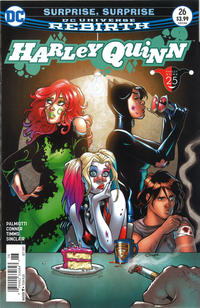 Cover Thumbnail for Harley Quinn (DC, 2016 series) #26 [Newsstand]