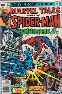 Cover Thumbnail for Marvel Tales (Marvel, 1966 series) #107 [Newsstand]