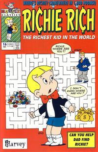 Cover Thumbnail for Richie Rich (Harvey, 1991 series) #16 [Direct]