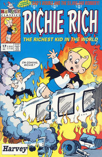 Cover Thumbnail for Richie Rich (Harvey, 1991 series) #17 [Direct]