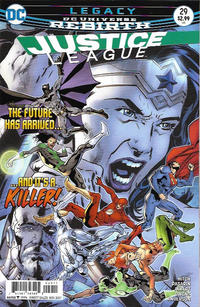 Cover Thumbnail for Justice League (DC, 2016 series) #29