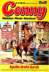 Cover Thumbnail for Conny (Bastei Verlag, 1980 series) #116