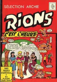 Cover Thumbnail for Sélection Rions C'est L'Heure (Editions Héritage, 1975 ? series) #120
