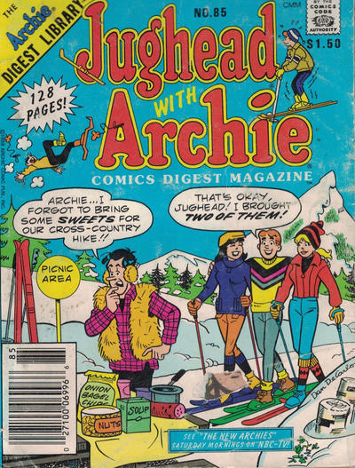 Cover for Jughead with Archie Digest (Archie, 1974 series) #85