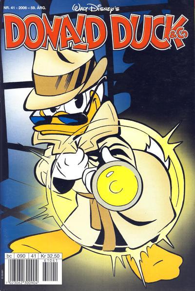 Cover for Donald Duck & Co (Hjemmet / Egmont, 1948 series) #41/2006