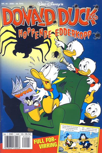 Cover for Donald Duck & Co (Hjemmet / Egmont, 1948 series) #44/2006