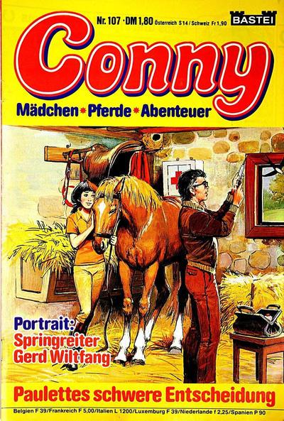 Cover for Conny (Bastei Verlag, 1980 series) #107
