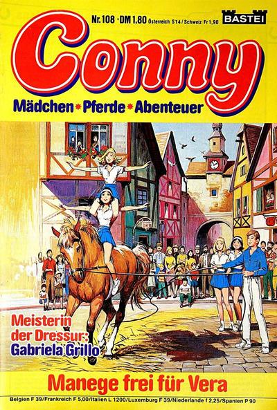 Cover for Conny (Bastei Verlag, 1980 series) #108