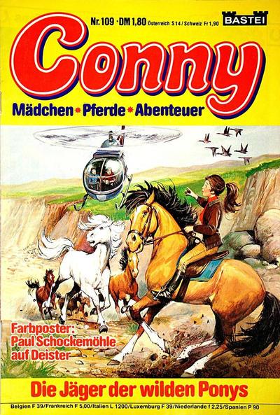 Cover for Conny (Bastei Verlag, 1980 series) #109