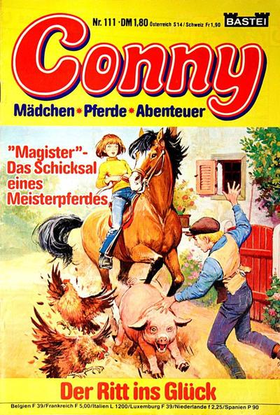 Cover for Conny (Bastei Verlag, 1980 series) #111