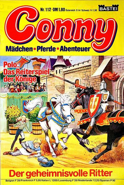 Cover for Conny (Bastei Verlag, 1980 series) #112