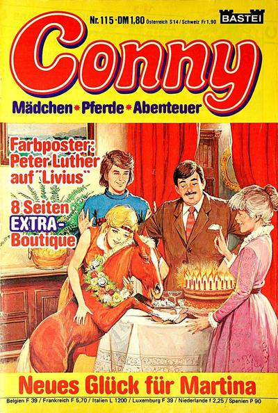 Cover for Conny (Bastei Verlag, 1980 series) #115