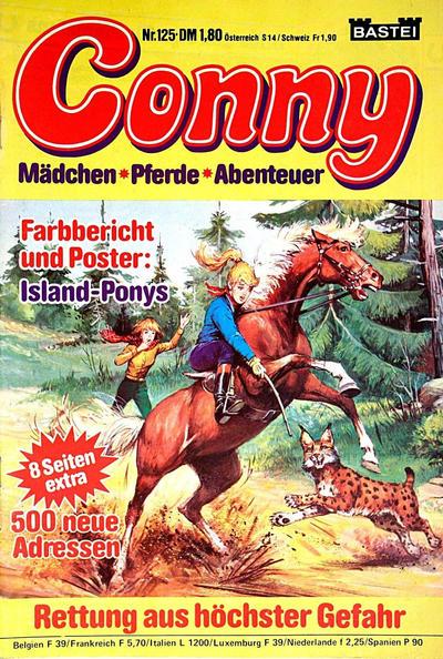 Cover for Conny (Bastei Verlag, 1980 series) #125