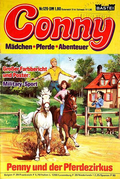 Cover for Conny (Bastei Verlag, 1980 series) #126
