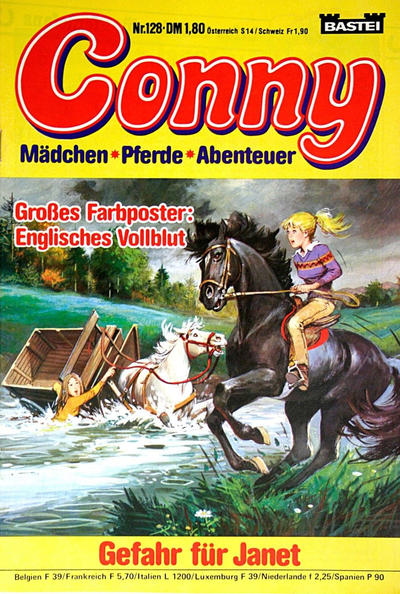 Cover for Conny (Bastei Verlag, 1980 series) #128