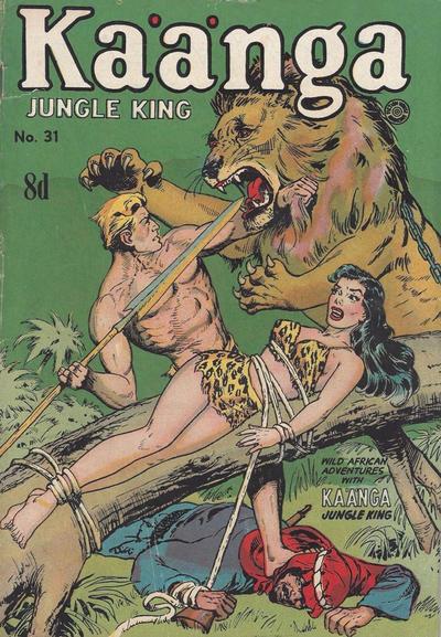 Cover for Kaänga Comics (H. John Edwards, 1950 ? series) #31