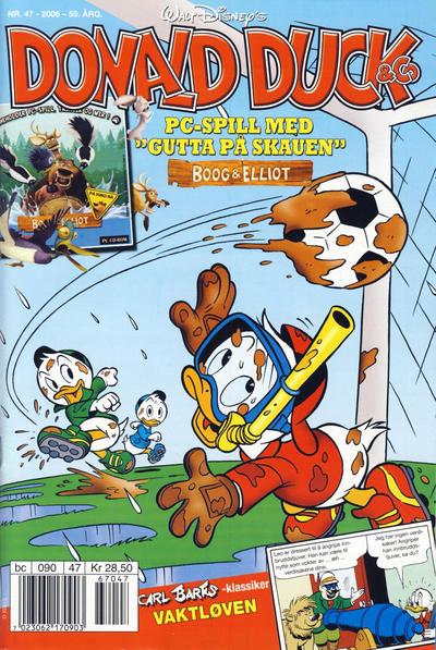 Cover for Donald Duck & Co (Hjemmet / Egmont, 1948 series) #47/2006