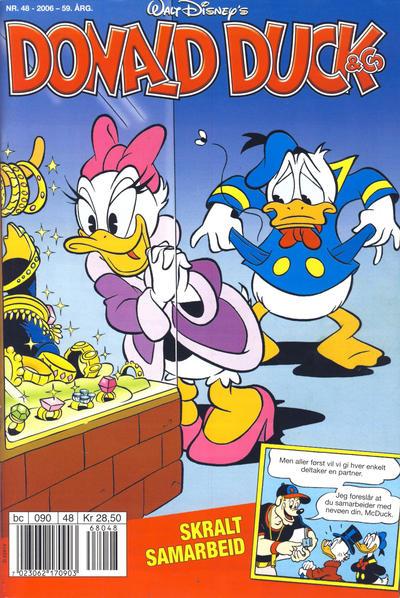 Cover for Donald Duck & Co (Hjemmet / Egmont, 1948 series) #48/2006