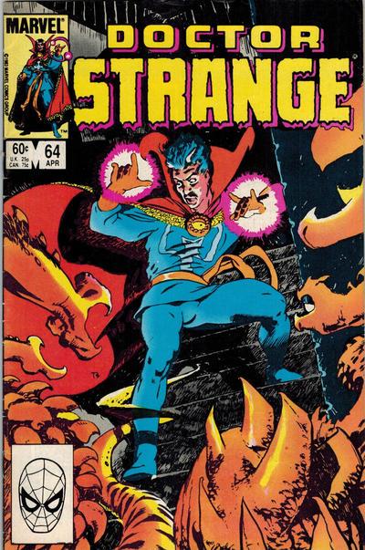 Cover for Doctor Strange (Marvel, 1974 series) #64 [Direct Edition]