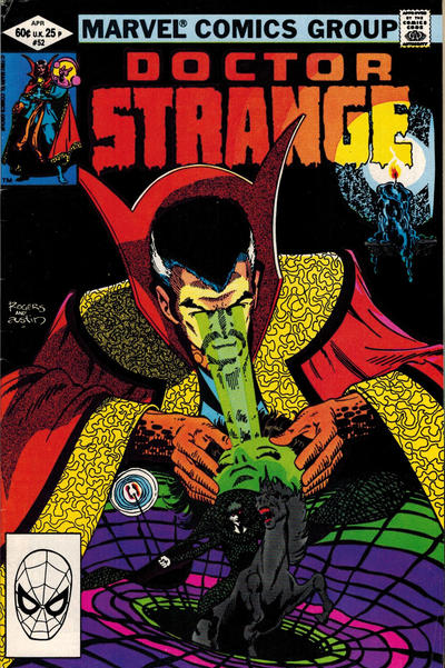 Cover for Doctor Strange (Marvel, 1974 series) #52 [Direct Edition]