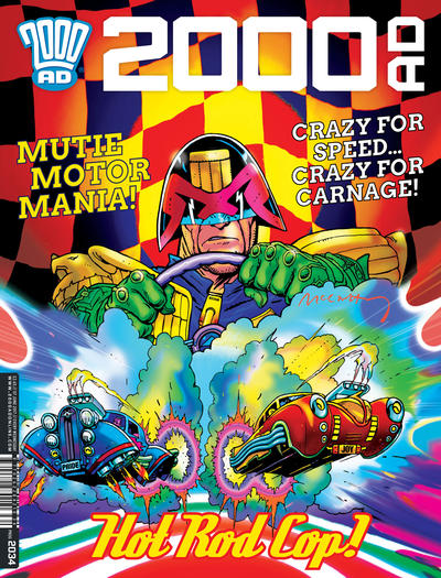 Cover for 2000 AD (Rebellion, 2001 series) #2034