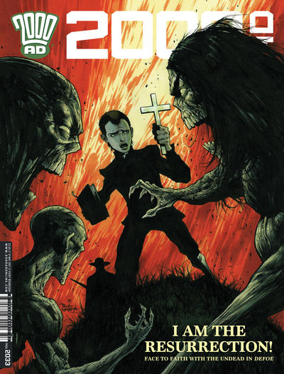 Cover for 2000 AD (Rebellion, 2001 series) #2033