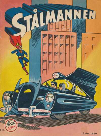 Cover for Stålmannen (Centerförlaget, 1949 series) #26/1950