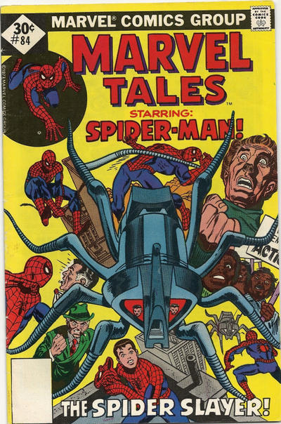 Cover for Marvel Tales (Marvel, 1966 series) #84 [30¢ Cover Price]