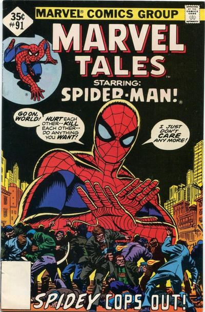 Cover for Marvel Tales (Marvel, 1966 series) #91 [Regular Edition]