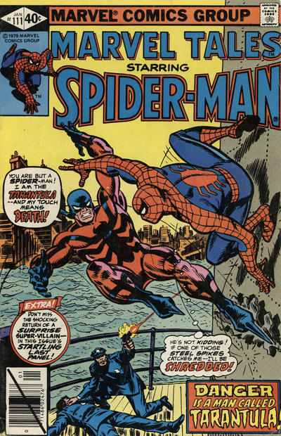 Cover for Marvel Tales (Marvel, 1966 series) #111 [Direct Edition]