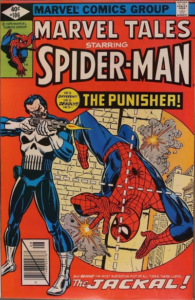 Cover for Marvel Tales (Marvel, 1966 series) #106 [Direct Edition]